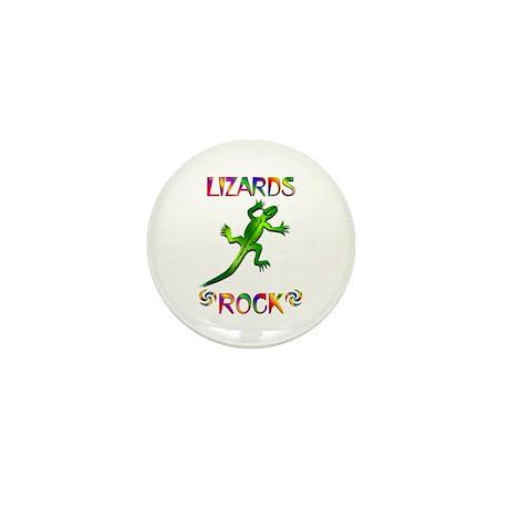Lizard Mini Button