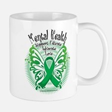 Mental Health Butterfly 3 Mug