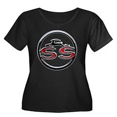 Impala SS Women's Plus Size Scoop Neck Dark T-Shir