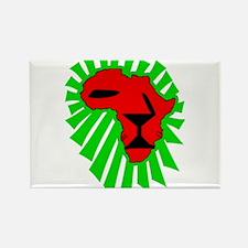 Lion El Rectangle Magnet (100 pack)