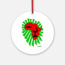 Lion El Ornament (Round)