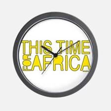 For Africa Wall Clock