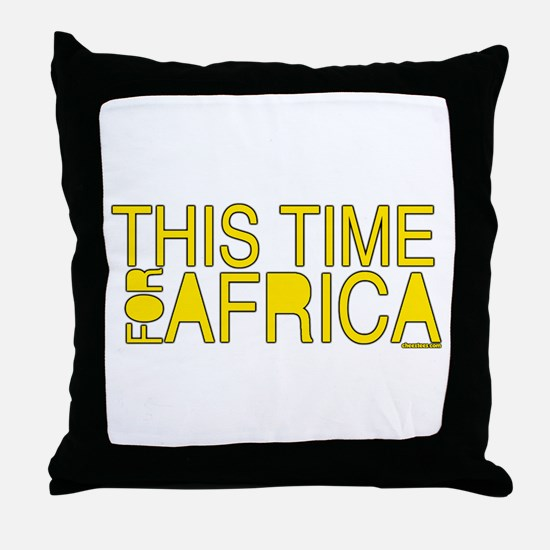 For Africa Throw Pillow