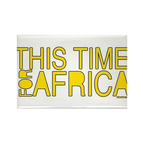 For Africa Rectangle Magnet (100 pack)