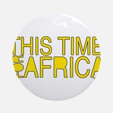 For Africa Ornament (Round)