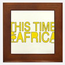 For Africa Framed Tile