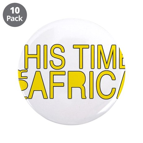 """For Africa 3.5"""" Button (10 pack)"""