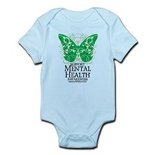 Mental Health Butterfly Infant Bodysuit