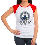 Morrison Clan Badge Women's Cap Sleeve T-Shirt