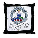 Morrison Clan Badge Throw Pillow