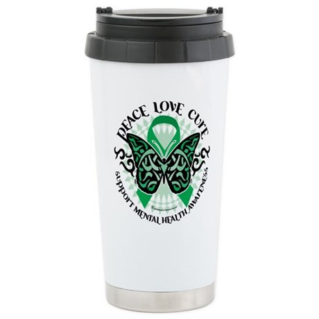 Mental Health PLC Stainless Steel Travel Mug