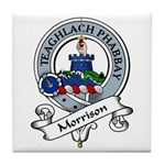 Morrison Clan Badge Tile Coaster