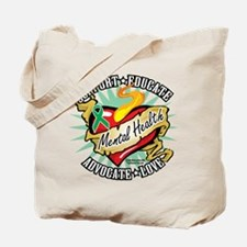 Mental Health Classic Heart Tote Bag
