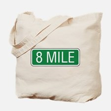 8 Mile Road Tote Bag