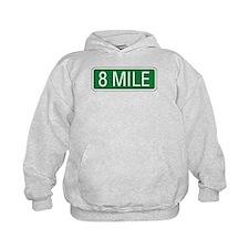 8 Mile Road Hoodie