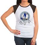 Montgomery Clan Badge Women's Cap Sleeve T-Shirt