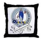 Montgomery Clan Badge Throw Pillow