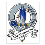 Montgomery Clan Badge Small Poster