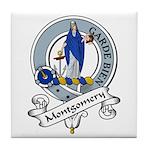 Montgomery Clan Badge Tile Coaster