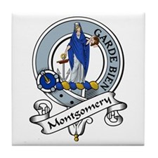 Montgomery Clan Badge Tile Coaster