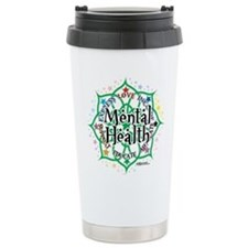 Mental Health Lotus Travel Mug