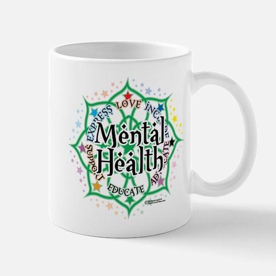 Mental Health Lotus Mug