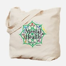 Mental Health Lotus Tote Bag