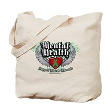 Mental Health Wings Tote Bag