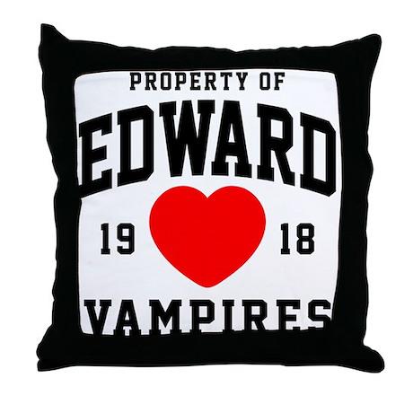 Edward Property Throw Pillow
