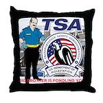 TSA Throw Pillow