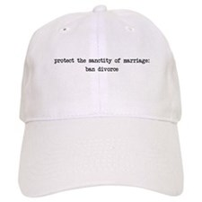 Protect the Sanctity of Marriage Baseball Cap