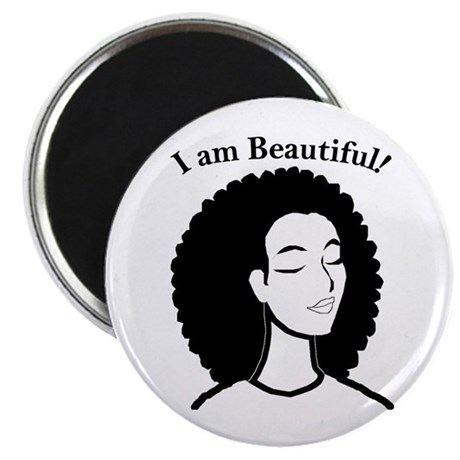 i am beautiful magnet by jazigifts13. Black Bedroom Furniture Sets. Home Design Ideas