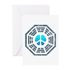 Dharma Blue Peace Greeting Cards (Pk of 10)