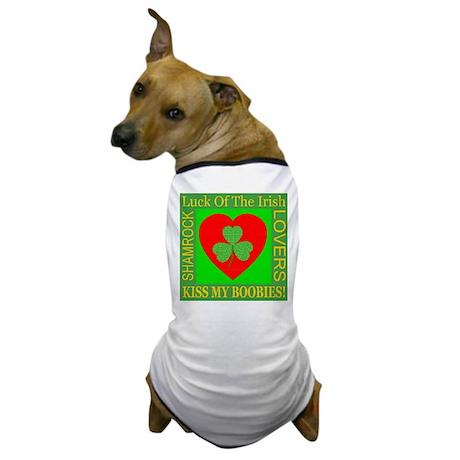 Kiss My Boobies! Dog T-Shirt