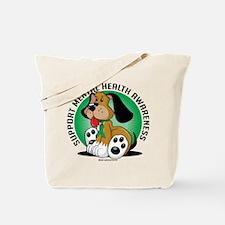 Mental Health Dog Tote Bag