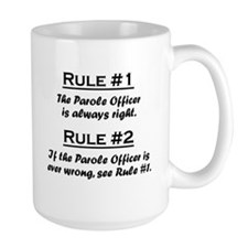 Parole Officer Mug