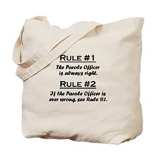 Parole Officer Tote Bag