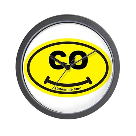 CO State Smile(TM) Wall Clock