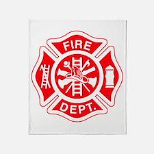 Fire Department - Throw Blanket