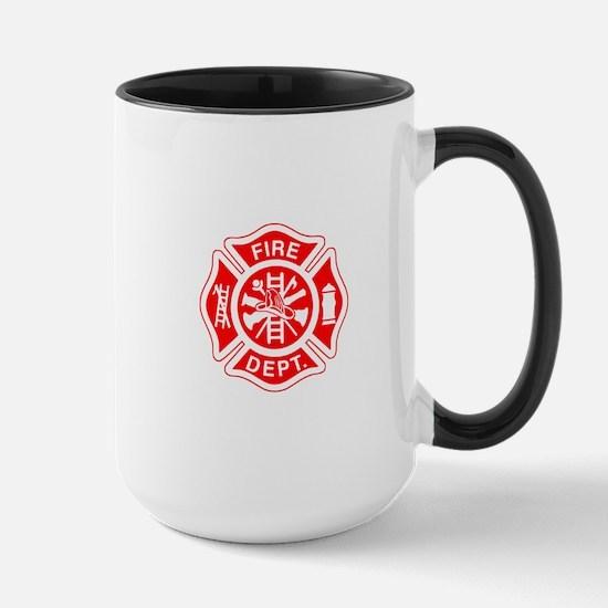 Fire Department - Large Mug