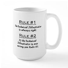 Technical Illustrator Mug