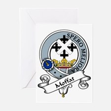 Moffat Clan Badge Greeting Cards (Pk of 10)