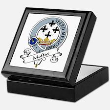 Moffat Clan Badge Keepsake Box