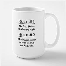 Taxi Driver Large Mug