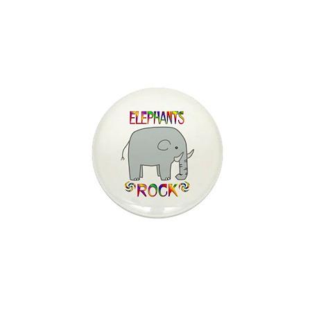 Elephant Mini Button