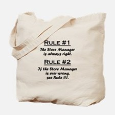 Store Manager Tote Bag