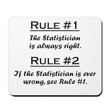 Statistician Mousepad