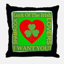 I Want You! Throw Pillow