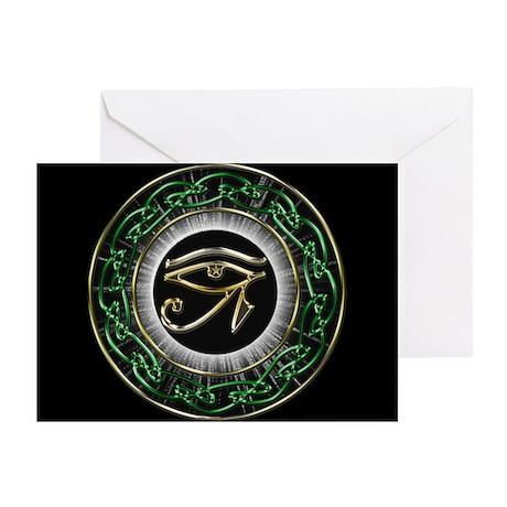 Eye Of Ra Greeting Cards (Pk of 10)