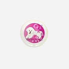 Bichon Frise Mini Button (10 pack)